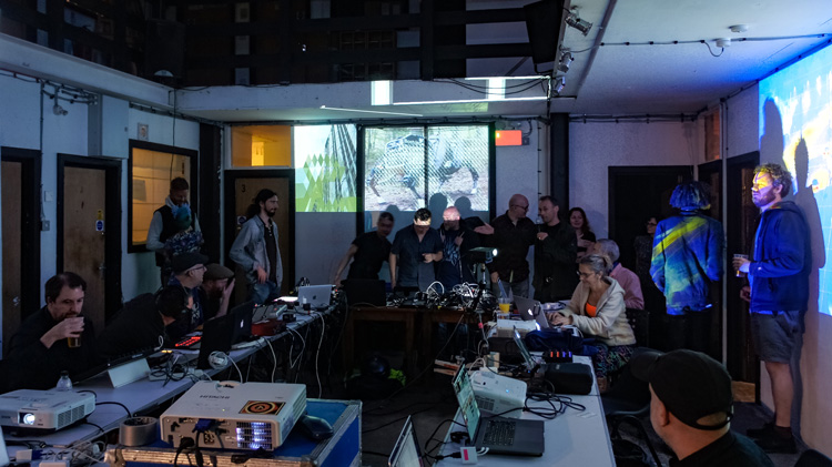 Crux AV Link Jam with Splice Festival - May 2018