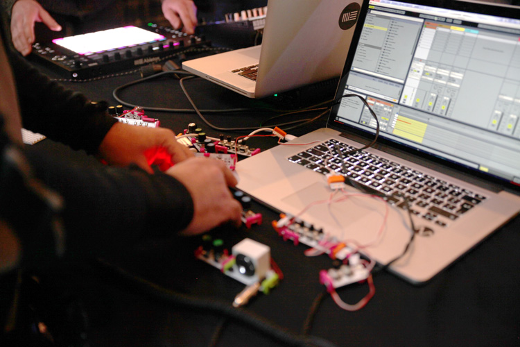 Photo of Link Jam from Crux 2.0 at Music Hackspace